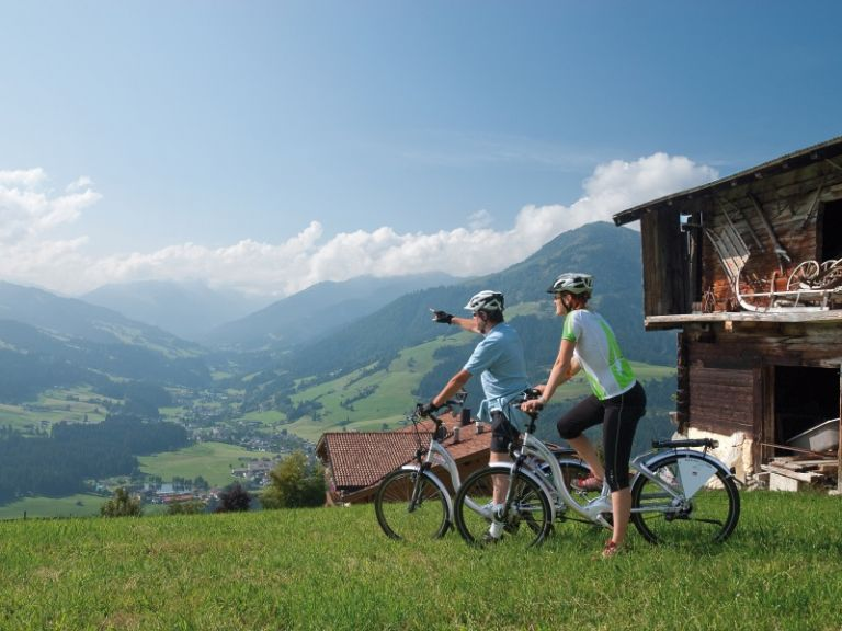 E-bike tour in Brixental