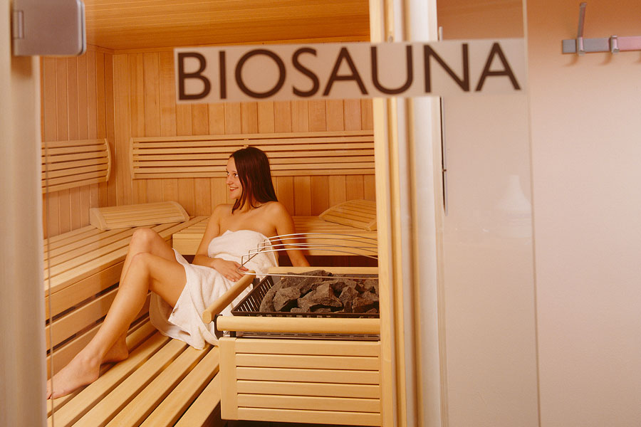 Sauna at the Mariasteinerhof in Tyrol